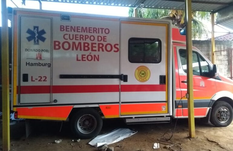 Ein Rettungswagen für die Freiwillige Feuerwehr