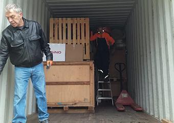 Ein Container für die Fire and Rescue Force