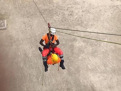 Premierminister besucht Höhenretter